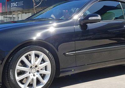 Shiny Black Car